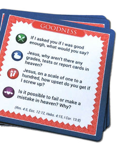 Questions for Jesus Game
