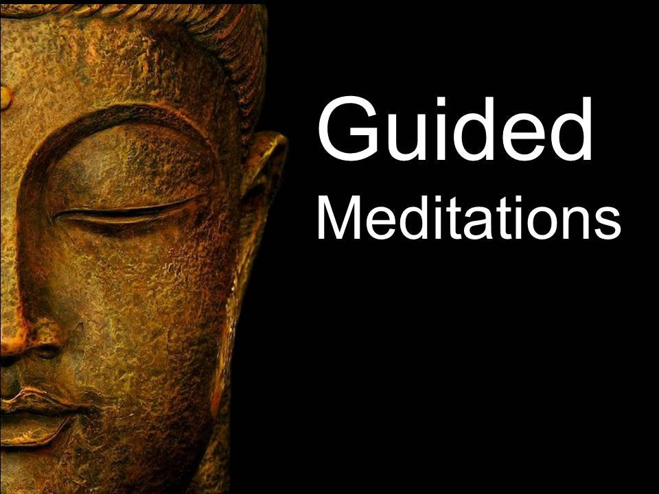 One on one guided meditation