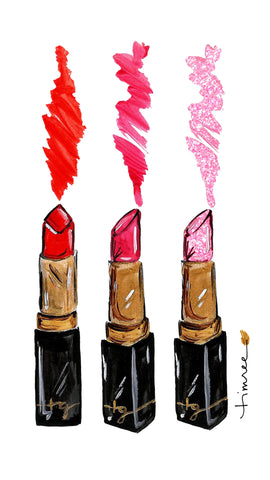 Lipstick Mobile Screensaver