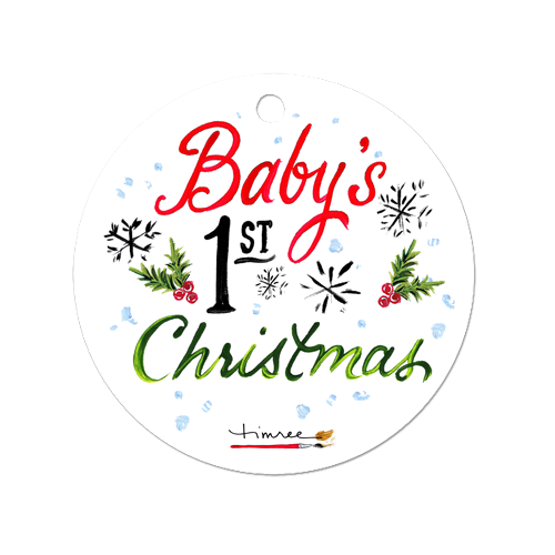 Baby S First Christmas Ornament Timree