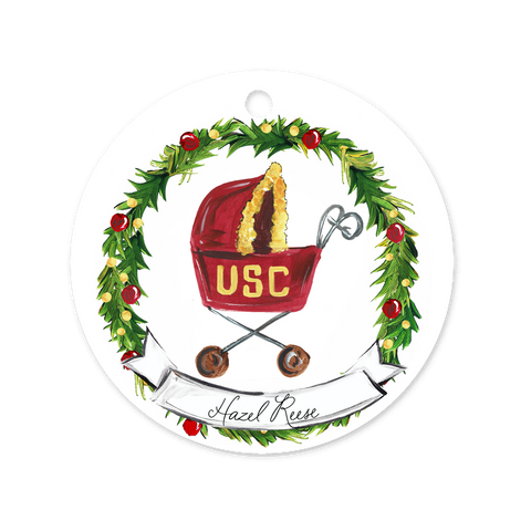 USC Baby Ornament