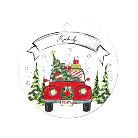 Christmas Bug Ornament
