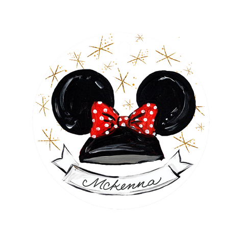 Mouse Ears Ornament