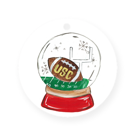 USC Snowglobe Ornament