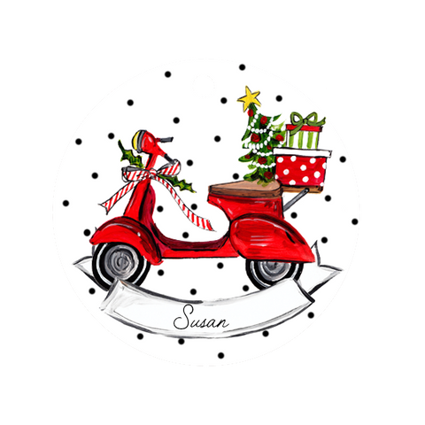Vespa Ornament