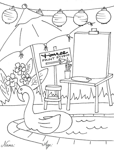 Summer Coloring Contest