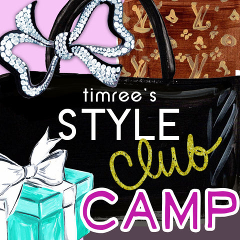 Timree's Style Club Camp, 1:30pm - 4:30pm