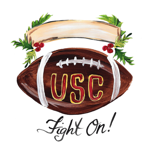 USC Football Ornament
