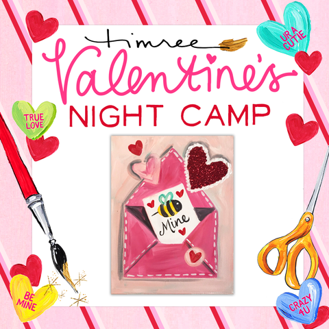 Valentine's Evening Camp (2/8 5:00pm-8:00pm)