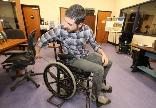 Center for Discovery team gets $1M from Google for wheelchair design invention