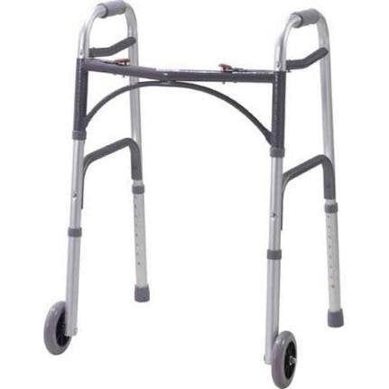 Drive Medical Deluxe Adult Folding Walker