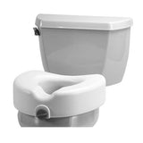 Viverty Raised Toilet Seat with Lock