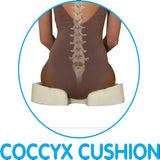 Contour Living Kabooti Coccyx 3-in-1 Ring Cushion