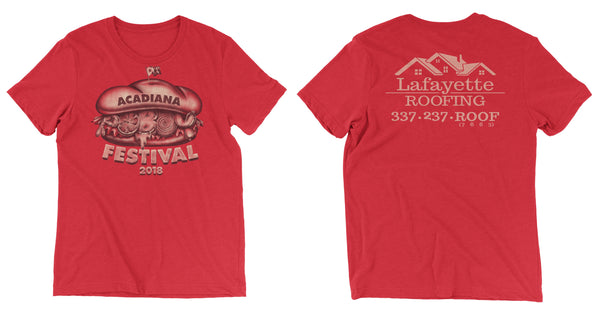 3rd Annual Acadiana Poboy Festival T-Shirt