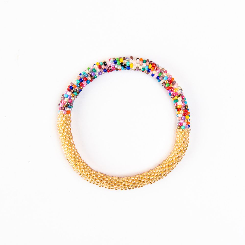 Honey Party Confetti Split Bracelet
