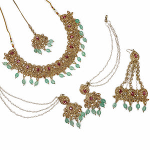 Lija Bridal Necklace Set