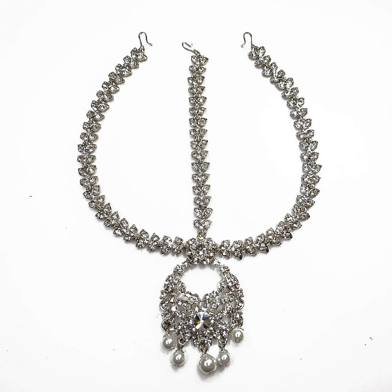 Shabnam head chain - Silver