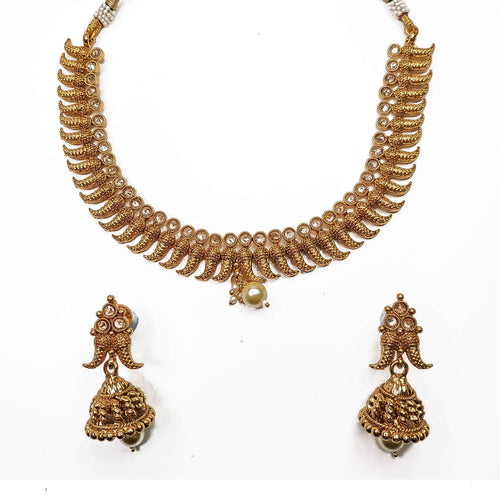 Amna Small Gold Set