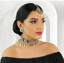 Load image into Gallery viewer, Jaanvi Choker set