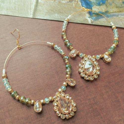 Olivia Hoop Earrings