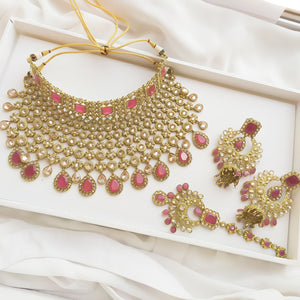 Dipika Statement Bridal Choker set