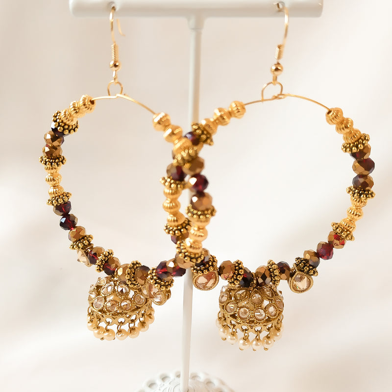 Anamika Jhumka hoop Earrings