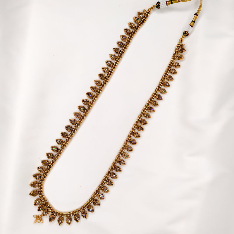 Valda Long Gold Necklace