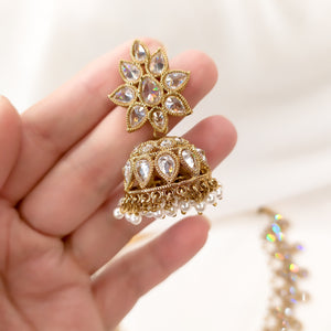 Juhi Set - Clear Crystal
