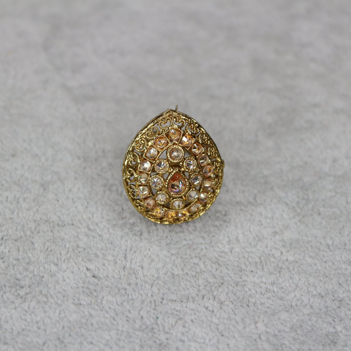 Small Antique Polki Ring