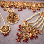 Shaila Wedding Set - Maroon