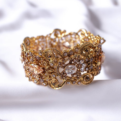 Statement Zircon Bangle Size 2.10