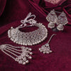 Ziba Silver Necklace set