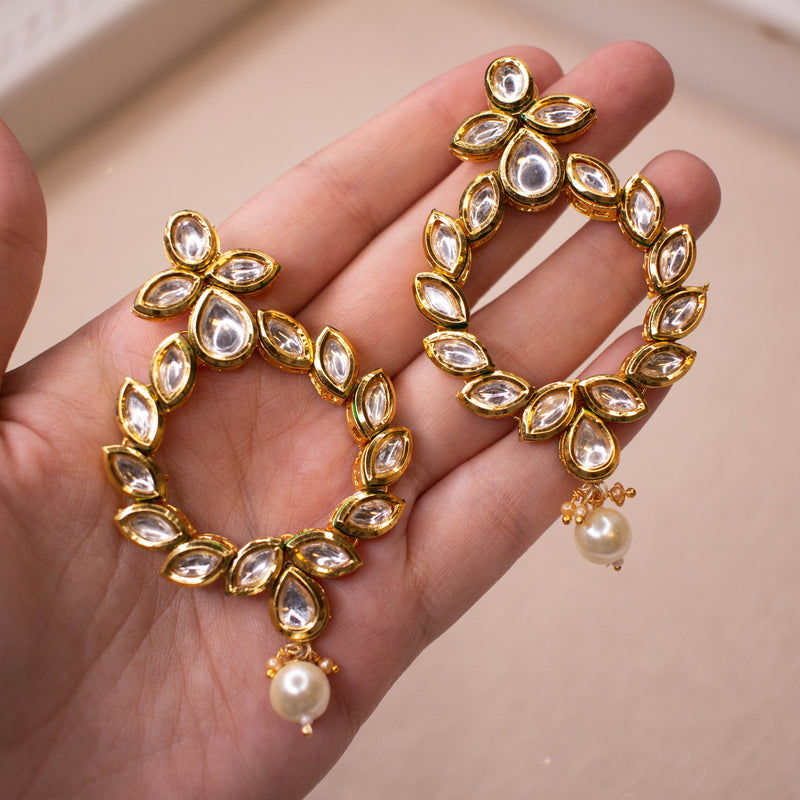 Lydia Kundan Earrings