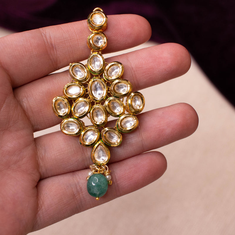 Green Drop Kundan Tikka