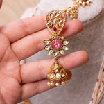 Ruby Detail Kundan Haar Set