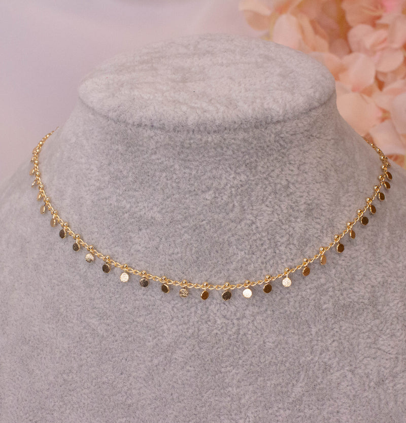 Liyana Gold plated Necklace