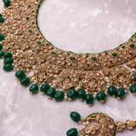 Alama Necklace Set - Green