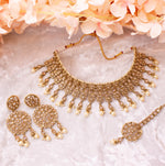 Abby Necklace Set - Champagne