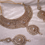 Valda Bridal Set - Clear crystal