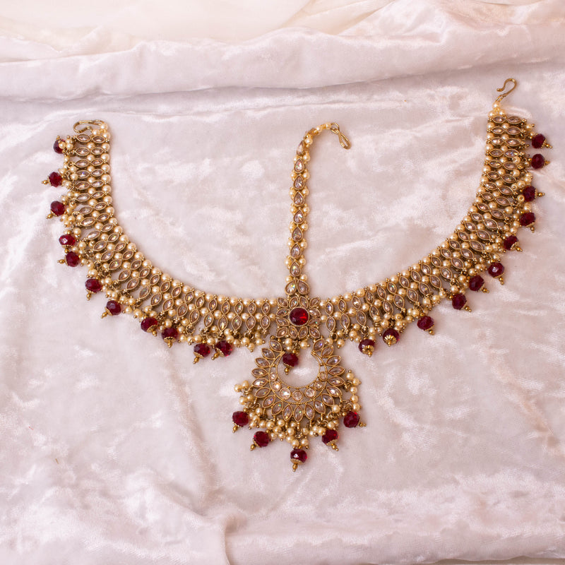 Statement Antique Mathapatti / Head Chain