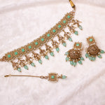 Renu Choker Set -  Mint