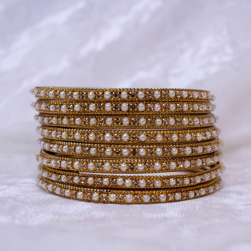 Pearl/Golden Bangles