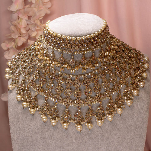 Sabina Bridal set - Antique Gold
