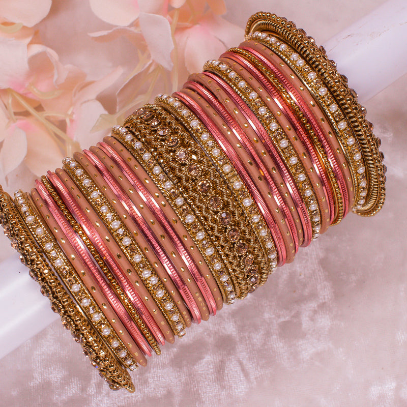 Nude Tone Bangle stack