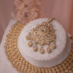Rekha Antique Necklace set
