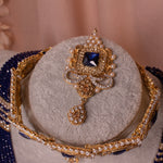 Katoor  Bridal Choker set - Midnight Blue
