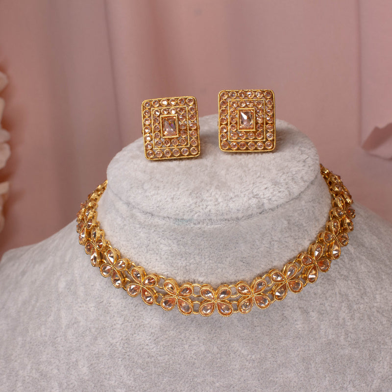 Hana Small Gold Set