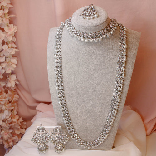 Small Sameem Bridal set - Silver