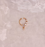 Small Crystal Nose ring