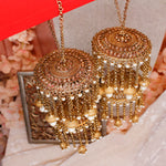 Sharon Antique Gold Kaleereh